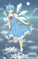 Touhou Fanart - Cirno the Ice Fairy by Ladre