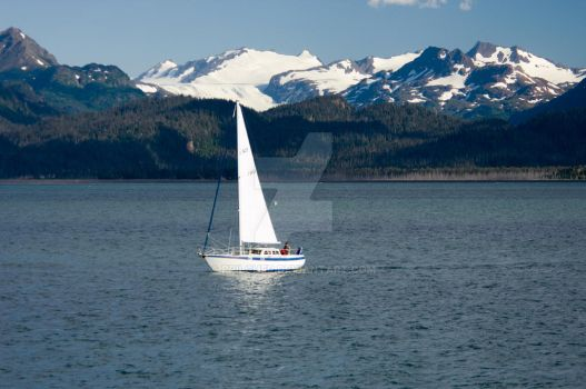 Sailing into Kachamack by RPilcher