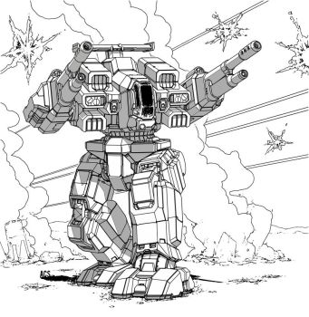Battletech - Rifleman by Shimmering-Sword