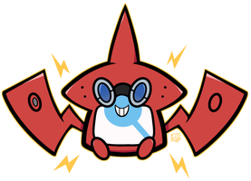 There's a Rotom in Your Pokedex! by DuckyDeathly