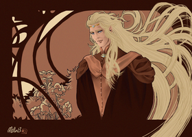 Glorfindel (2013-colored) by MellorianJ