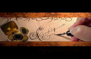 At Fates Hands Banner II by mavartworx
