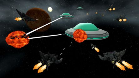 Space Battle by BrutalityInc