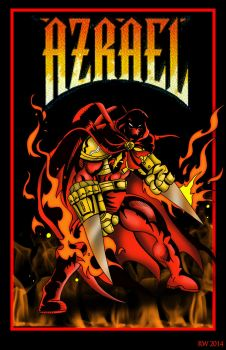 Azrael by whittingtonrhett