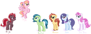 My main 6 by LethalAuroraMage