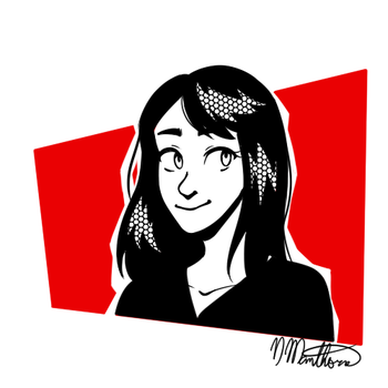 P5 text icon Commission (Get one for $15!) by nikki45e