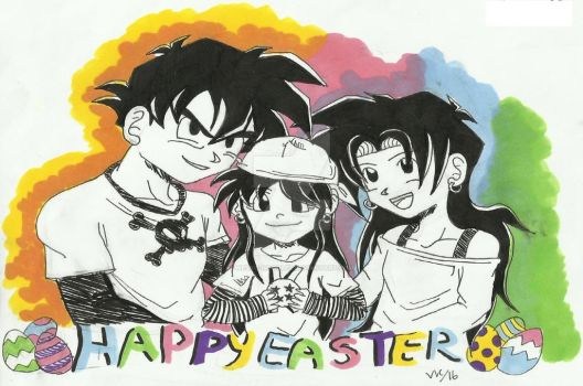 Happy Easter 2016 by Nessie-Noodlez
