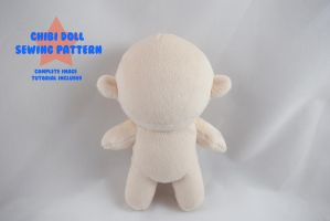 Chibi Doll Sewing Pattern 2.0 by PlanetPlush