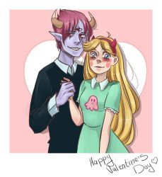 Star Butterfly x Tom Lucitor by LiLi-tti