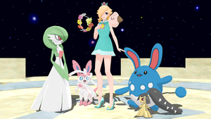 Rosalina's Fairy-type Party