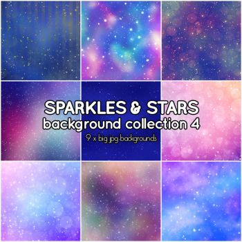 Sparkles and Stars background collection 4 by Suuz-chan