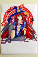 Rias gremory ~ Witch by VenSaleyah