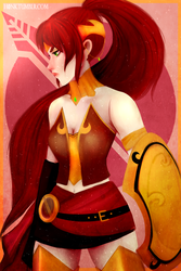 Commission | Pyrrha Nikos by H0nk-png