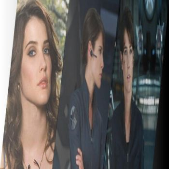 Cobie Smulders is Agent Maria Hill by IluvTomHiddleston
