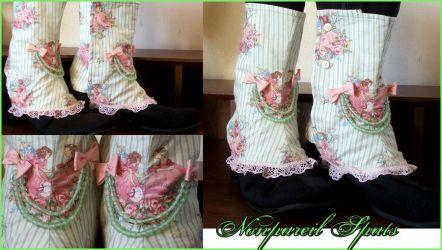 Nonpareil Lady's Spats by velvetgoldmineee