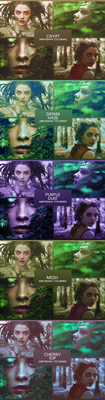 800 Watchers Pt. 1 - Coloring Pack by Abbysidian