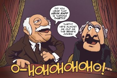 Statler and Waldorf by BBSC