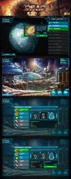 GUI/UX Dead Defence by art-notturno