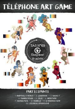 TAG 69 - Changement de palette by Telephone-Art-Game