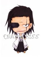 Zaraki Kenpachi copic color style by CrezyKiss