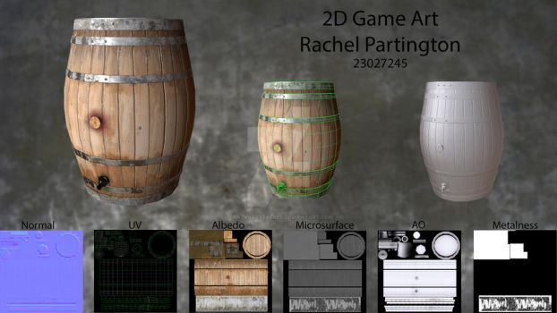 Presentation Sheet - Rachel Partington by Crazyartstalker