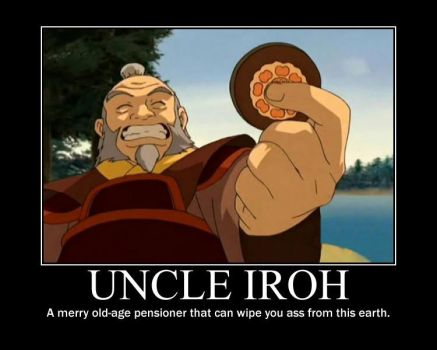 Uncle iroh by RedHatMeg