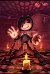 Bendy and the ink machine portada 2 by eliana55226838