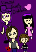 Vincent Family Drabbles Cover by DreamNotePrincess