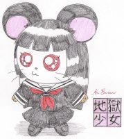 Hamster Ai Enma by macaustar