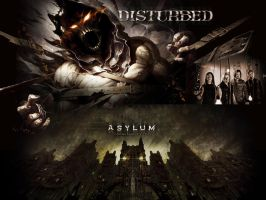 Asylum - Disturbed by DarknessBliss