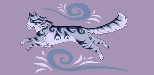 Silverstream by paintedpaw-cat