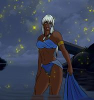 Kida in the night by odinforce23
