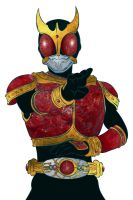 Kamen Rider Kuuga another look by RiderB0y