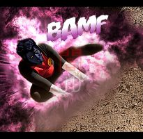 Nightcrawler Bamf by JonathanDuran