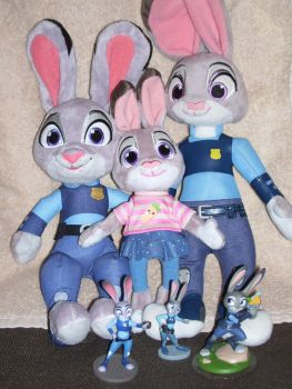 Will the Real Judy Hopps Please Hop Up? by SJF-Penguin