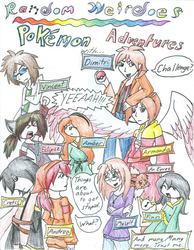 Pokemon Comic Cover by fennecthefox15