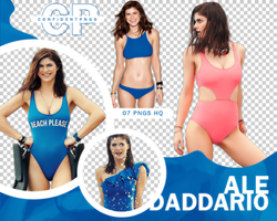 Png Pack 783 // Alexandra Daddario by confidentpngs