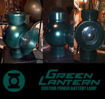 Green Lantern Power Battery by ajb3art