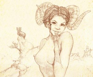 Zodiacales - Aries by Gizmoatwork