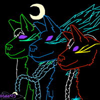 Nightwindwolves by nightwindwolf95