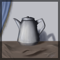 Unfinished Tea-pot XD by dragon-ryuu