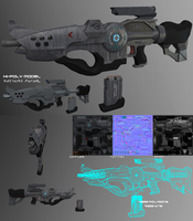 Raharrs standard assault rifle Mk1 by darth-biomech