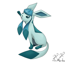 Glaceon by raykins