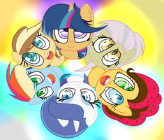 MLP Friendship Is Happiness, Thay Cute Ness by GalaxySwirlsYT