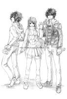FI: The Trio by Rozelque