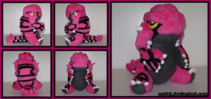 Pinky the Groudon by sorjei