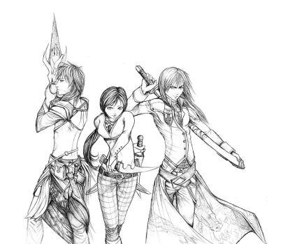 Warriors by Cazandra