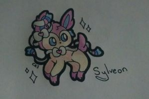 Sylveon by SockOwl