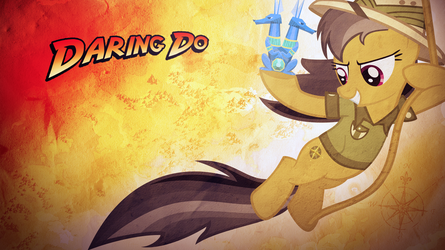 Daring Do Wallpaper by SandwichHorseArchive