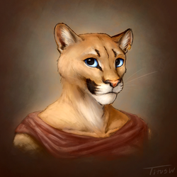 Cougar [sketch] by TitusWeiss